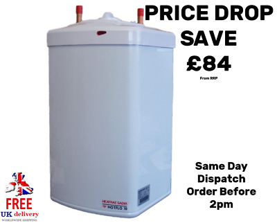 Heatrae Sadia Hotflo 10 Litres Water Heater & Fitting Kit 2.2kW @ 240V