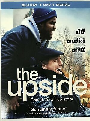 THE UPSIDE, (2019, Blu-ray + DVD + DIGITAL + SLIPCOVER)