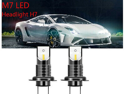 6000K 110W 30000LM H7 Car LED Headlight Conversion Globes Canbus Bulbs Beam Kit