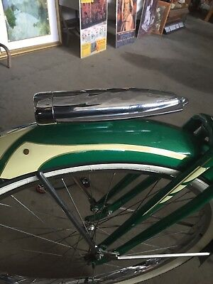 Bicycle headlight  Cream Chrome Schwinn Elgin and Columbia cruiser bicycles