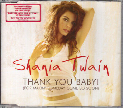 Shania Twain - Thank You Baby! (For Makin' Someday Come So Soon) (CD)