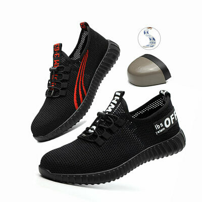 Lightweight Mens Womens Steel Toe Cap Safety Work Boots Hiking Trainers Shoes