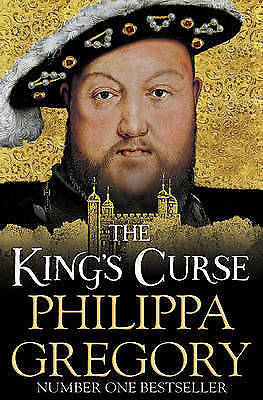 """""""AS NEW"""" The King's Curse (COUSINS' WAR), Gregory, Philippa, Book"""