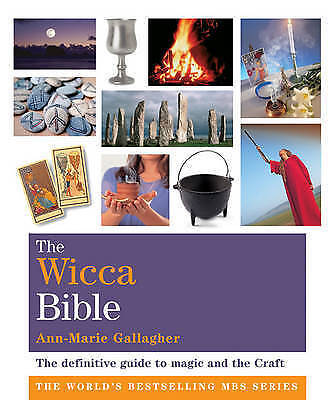 """""""AS NEW"""" The Wicca Bible: Godsfield Bibles, Gallagher, Ann-Marie, Book"""
