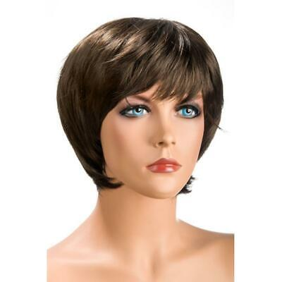 Perruque perruque chatain courte  WORLD WIGS