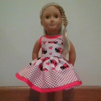 NEW GENERATION DOLL CLOTHES BAMBI BUTTERFLY DRESS FITS 18 INCH DOLLS