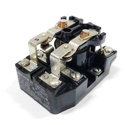 8501C016V20 Square D General Purpose Power Relay, Contacts DPDT 30A @ 300Vac