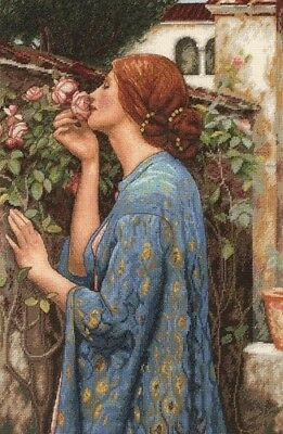"""DIMENSIONS GOLD COLLECTIONS""""SOUL OF THE ROSE""""CROSS STITCH KIT Kreuzstich STICKPA"""