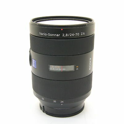 SONY Vario-Sonnar T*24-70mm F2.8 ZA SSM SAL2470Z (for SONY A ) -Near Mint- #211