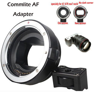 Commlite AF Auto Focus Adapter for Canon EOS EF-S len to Sony NEX E-mount Camera