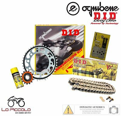 Triumph Tiger 1050 2007 2008 2009 Kit Trasmissione Did Catena Corona Pignone