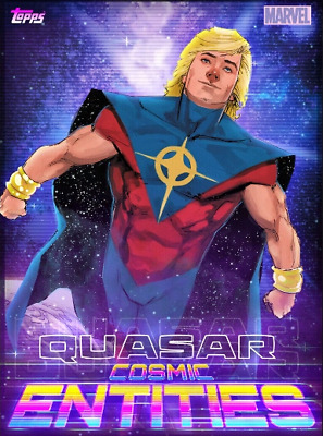 2019 COSMIC ENTITIES FREE PACK QUASAR Topps Marvel Collect Digital Card
