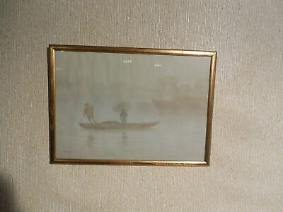 Early 20th Century Japanese Vintage Watercolor by Pre-War/War Artist S. Tosuke