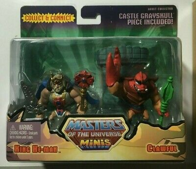 He-man- Masters Of The Universe- King He-man & Clawful Mini 2 Pack Matty 2014
