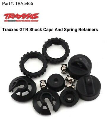 TRA5465 Traxxas GTR Shock Caps And Spring Retainers