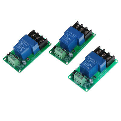 5V 12V 1 channel high & low Triger relay module 30A with optocoupler isolaNWUS