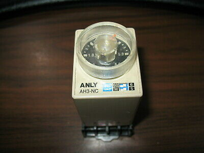 ANLY AH3-N Timer Relay with Base