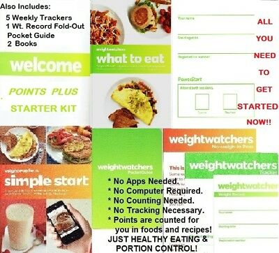 Weight Watchers POINTS PLUS STARTER KIT All U Need to Start Now! NEW Never Used
