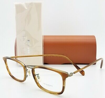 NEW Oliver Peoples Brandt Frame OV1210 5260 50 Brown AUTHENTIC Classic Club Type