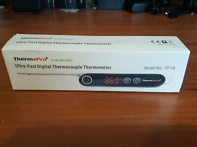 ThermoPro TP18 Ultra Fast Digital Meat Thermometer with Thermocouple Instant...