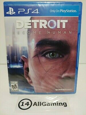 BRAND NEW! SEALED Detroit: Become Human - PS4 (PlayStation 4, 2018) Pro