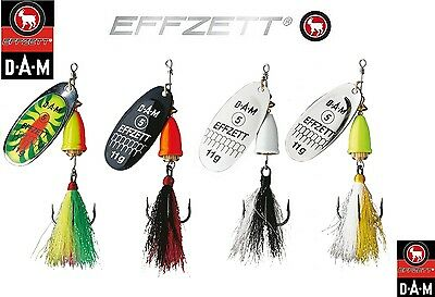 spinner for perch pike Balzer Colonel Shallow-Water 7g trout