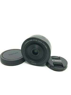 Canon EF-M 22mm f/2 STM Lens for EOS M mount From Japan [Excellent+++]
