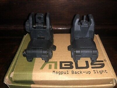 MBUS Magpul Gen 2 Back Up Sight Front And Rear
