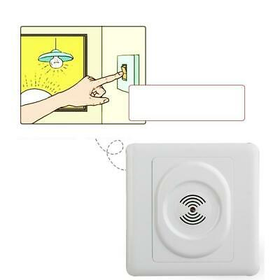 Voice Sound Activated Light Lamp Sensor Switch Wall Mounted Automatic Switch WH