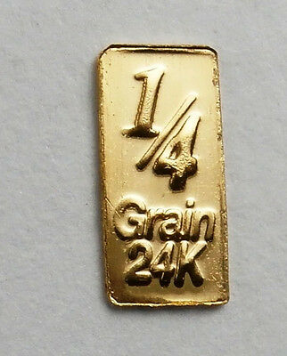 1//10 Gram Gold Bar  24K 999.9 Fine Gold Bullion Bar in sealed cert card revg