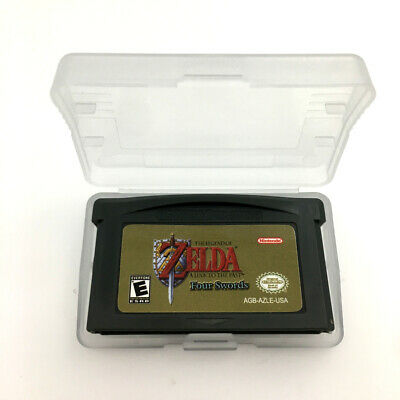 GBA Zelda The Legend of A Link to the Past Four Swords GameBoy Advance Cartridge