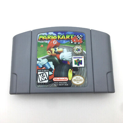 US Version Mario Kart/Racing Game Card  For N64 Nintendo 64 Console