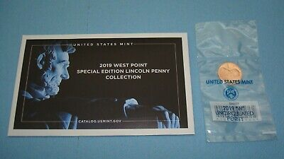 2019 W Uncirculated Lincoln Cent Penny West Point Mint In Stock