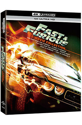Fast & Furious 5 Movie Collection - 4K UHD only Edition (2019)
