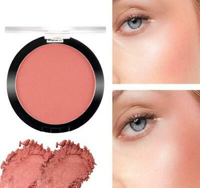 Sace lady Blusher Powder  Mineral Rouge Matte/Golden Glitter Professional Cheek
