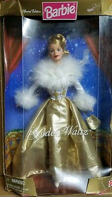 Barbie 1998 Golden Waltz Elegant Mattel Vintage 22976 Special Ed. Damaged Box