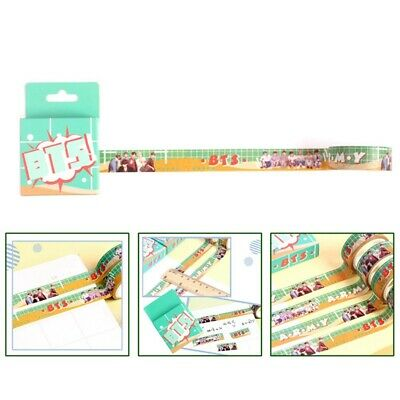 Kpop BTS Washi Tape Map of The Soul: Persona Photo Paper Masking DIY Sticker