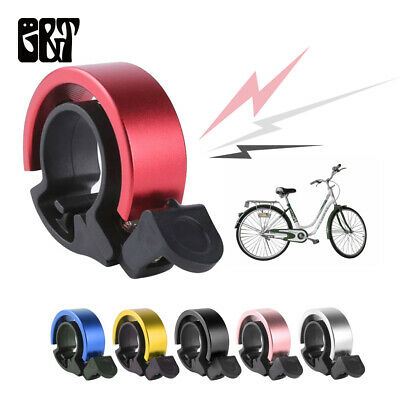 2PCS Bicycle Bell Aluminum Alloy Bike Bell Handlebar Alarm Ring Invisible Q bell