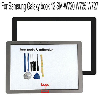 For Samsung Galaxy book 12 SM-W720 W723 W725 W727 Outer Front Glass Screen Lens