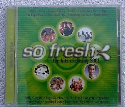 So Fresh the Hits of Spring 2001 cd various artists compilation