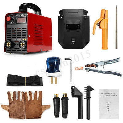 Handheld Mini Electric Welder 220V 30-200A Inverter ARC Welding Machine Tool