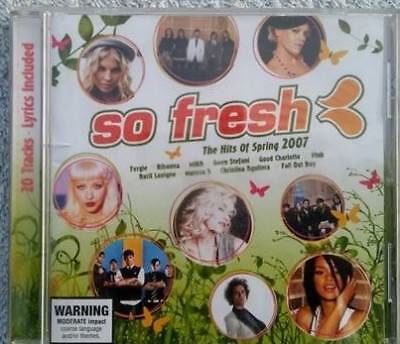 So Fresh the Hits of Spring 2007 cd various artists compilation