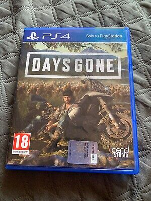 DAYS GONE PS4 - PLAYSTATION 4 - ITALIANO Come Nuovo