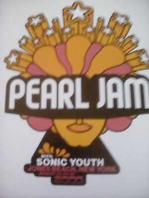 Pearl Jam Jones Beach NY 2000 Tour Poster 26x20cm from Book  Frame? Sonic Youth