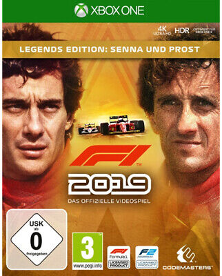 F1 2019 19 Legends Edition (Xbox One) (Nuovo & Ovp ) (Preordine)