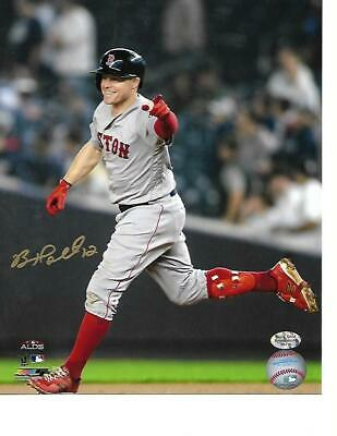 Brock Holt Boston Red Sox Autographed 8X10 Photo