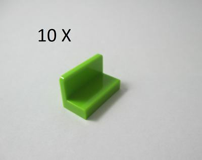 6x Panel Panel 1x2x1 Rounded Corners Green Lime Lego File 4865b New