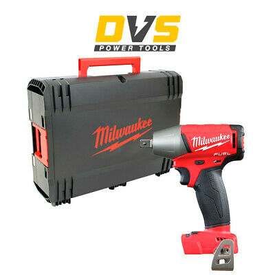 """Milwaukee M18Fiwp12-0 M18 Fuel 1/2"""" Impact Wrench With Pin Detent With Case"""