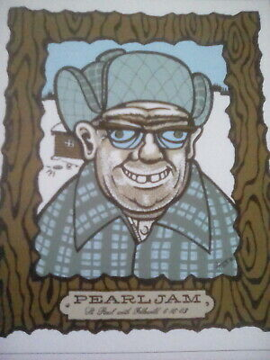 Pearl Jam 2003 Tour Poster Minnesota 14x12cm Small to Frame?