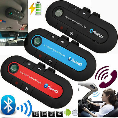 Universal Bluetooth Car Kit Wireless Handsfree Speaker Phone In-Car Speakerphone